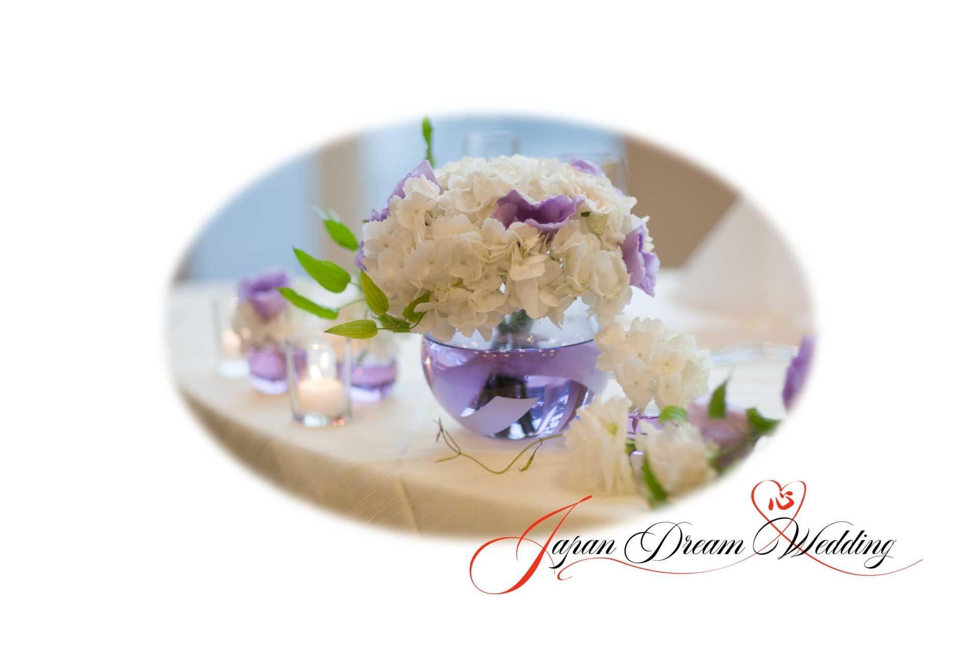 Japan Dream Wedding Flower Arrangement Services
